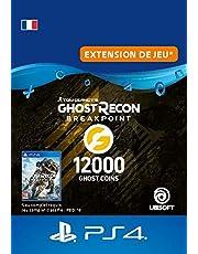 Ghost Recon Breakpoint - 9600 (+2400) Ghost Coins 12000 Coins | Code PS4  Jeu à télécharger - Compte français