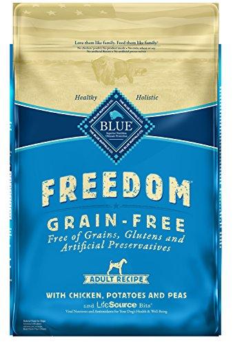 Blue Buffalo Freedom Grain Free Natural Adult Dry Dog Food, Chicken (Blue Buffalo Adult Formula)