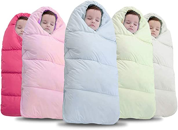 Saco de Dormir para bebés, otoño e Invierno, Engrosamiento del recién Nacido edredón del Carrito, Saco de Dormir, bebé, niño cálido y Anti-Kick 1-24 Meses: Amazon.es: Hogar