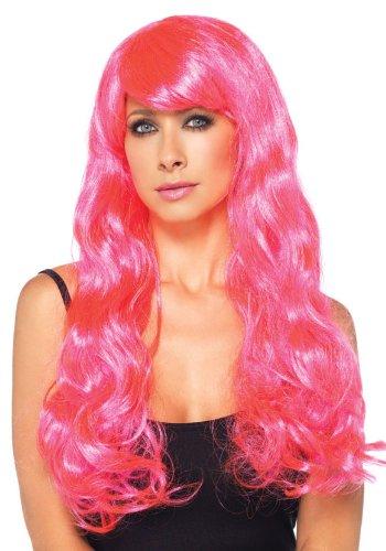 Neon Pink Wig - 3