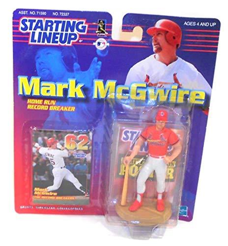 1999 Vintage Mark McGwire Home Run Record Breaker Starting Lineup Figure Unopened in - Mcgwire Home Mark Runs