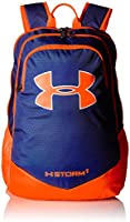 Under Armour Boys' Storm Scrimmage Backpack, Royal/Blaze Orange, One Size