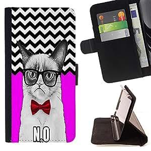 King Case - FOR LG OPTIMUS L90 - Let the more loving - Prima caja de la PU billetera de cuero con ranuras para tarjetas, efectivo Compartimiento desmontable y correa para la mu?eca