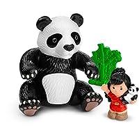 Muñeca de panda gigante de la gente pequeña de Fisher-Price