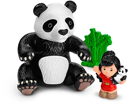 Fisher-Price Little People Giant Panda - Den Price Lions New Fisher