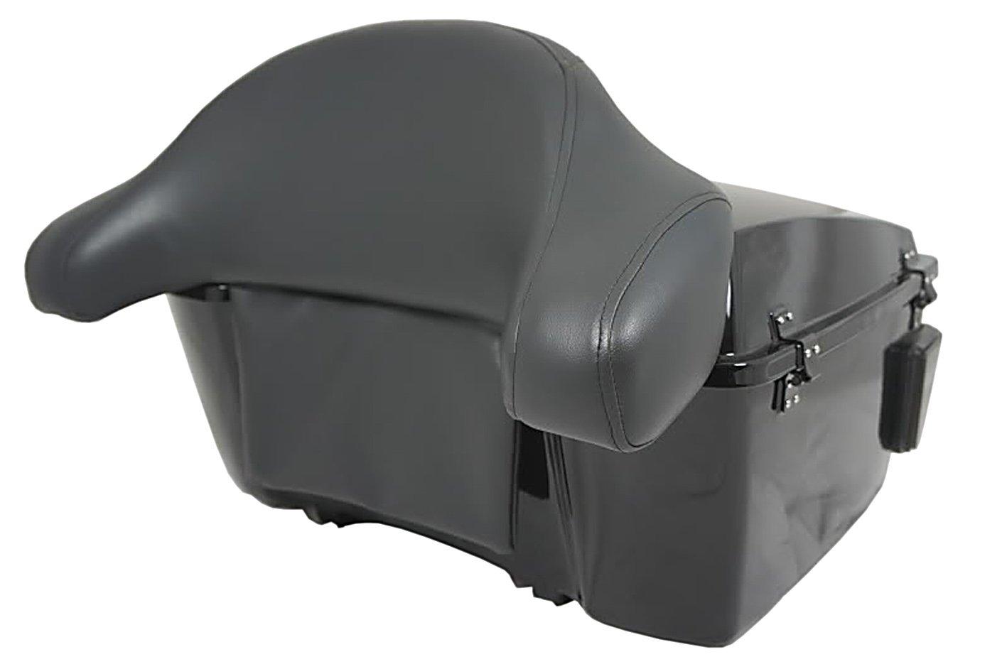 Baul rigido para moto custom de 70 litros de capacidad ...