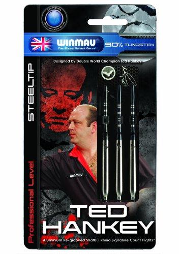 Winmau Ted Hankey World Champion Series Professional Level Steel Tip Darts (25-Gram)
