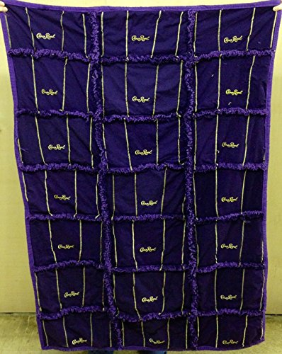 Crown Royal Throw size Handmade by Bitspeaces Quilts and More