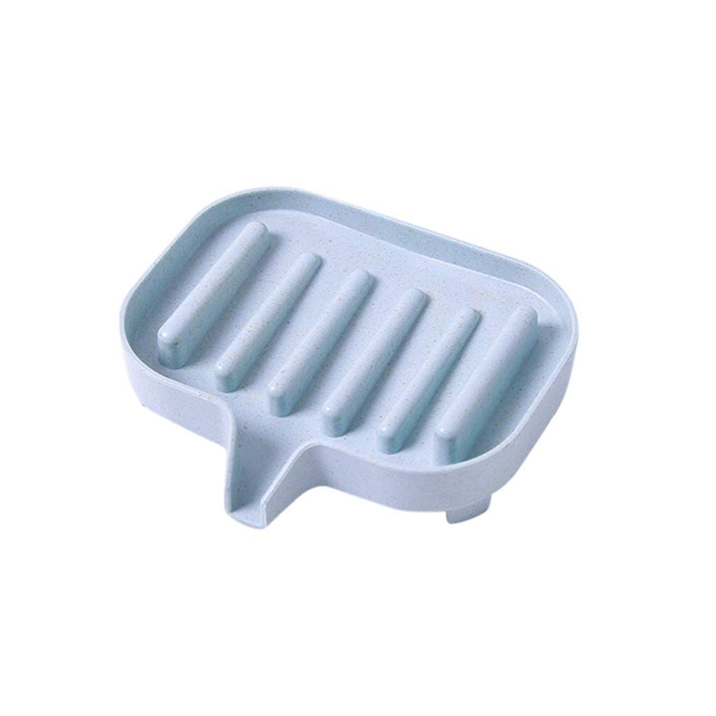 Home Bathroom Shower Travel Hiking Soap Box Dish Plate Holder Case Container th