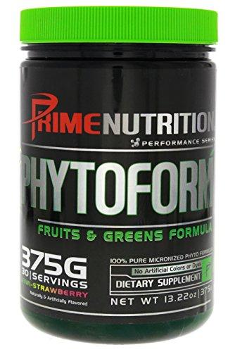 Phytoform   Fruits & Greens   Prime Nutrition   375g   30 Servings (Kiwi-Strawberry)