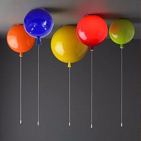 xqk plafón moderno lustre creatividad cámara niños 7 balón balón ...