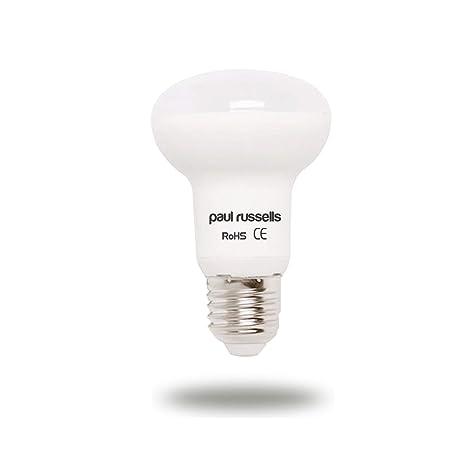 3 Pack 8 W Reflector LED Bombillas E27 ES rosca Edison Paul Russells brillante 8 W