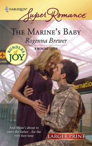 book cover of The Marine\'s Baby
