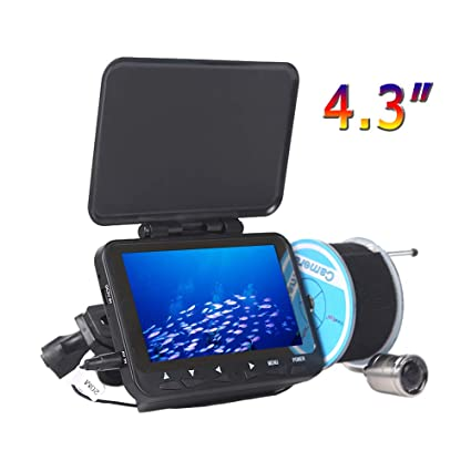 Video Surveillance 15m 1000tvl Ice Fishing Camera Underwater Fish Finder Video Cam 4.3 Lcd Color Sea Fishing Monitor Infrared Led Fishfinder Latest Technology