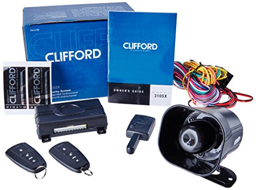 Clifford Matrix +1.2 1-Way Security Alarm System. Noticeable