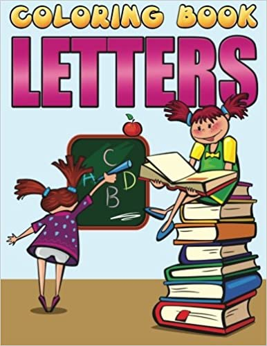 Coloring Book Letters