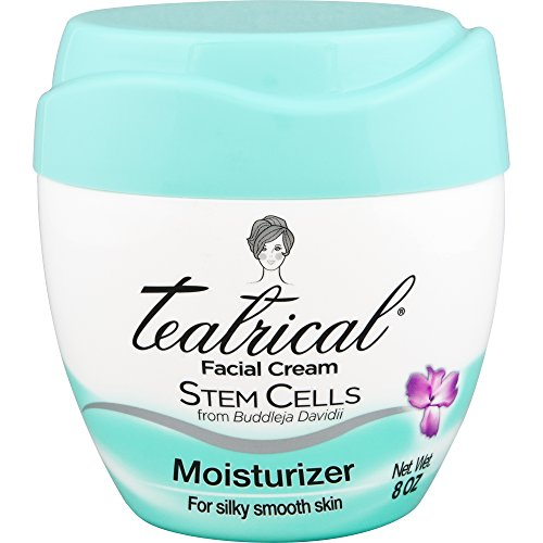 TEATRICAL Facial Moisturizer with Buddleja Davidii Stem Cells, 8 Ounces
