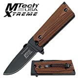 Cheap MTECH USA XTREME Mx-754Wd Tactical Folding Knife, 4.75-Inch Closed