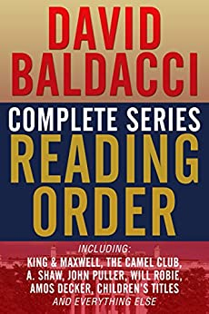 ,,FB2,, DAVID BALDACCI COMPLETE SERIES READING ORDER: King & Maxwell, Camel Club, John Puller, Will Robie, Amos Decker, Vega Jane, A. Shaw (Shaw & Katie James), And More!. tecnico segunda Utilice Catch parts Release
