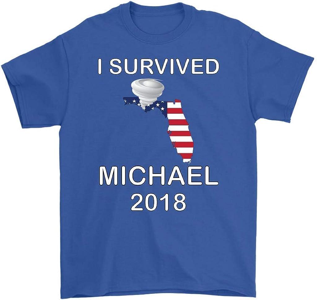 I Survived Hurricane Michael Florida 2018 Men's T-Shirt