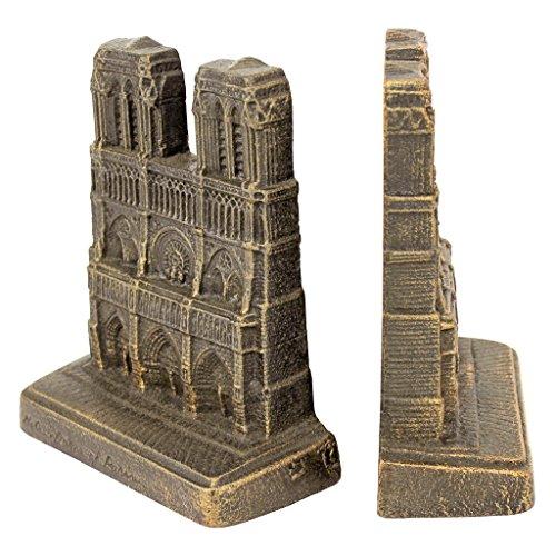 Design Toscano Notre Dame of Paris Sculptural Bookends