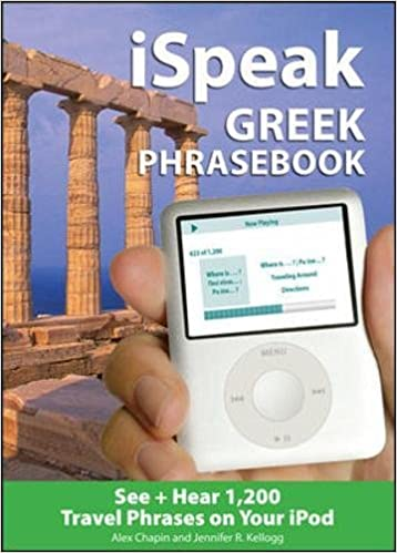 iSpeak Greek Phrasebook (MP3 Disc): See + Hear 1, 200 Travel