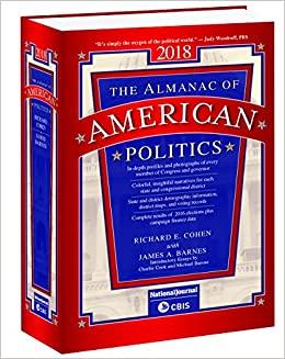Almanac of American Politics 2018 (US Congress Handbook)