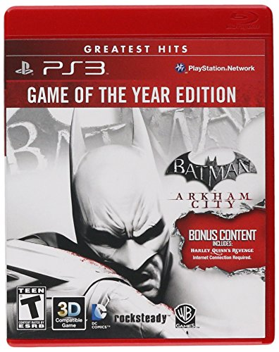 Batman: Arkham City - Game of the Year Edition (Restricted distribution) (Best Ps3 Games By Year)