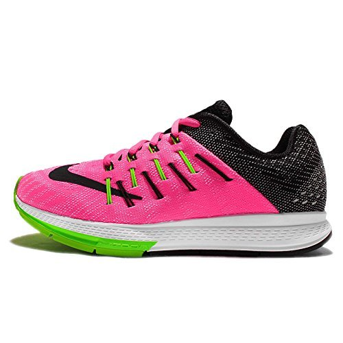 sale retailer 70ab7 18023 Nike Womens Wmns Air Zoom Elite 8, PINK BLAST/BLACK-WHITE-ELCTRC GREEN, 11  US