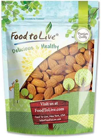 Nuts & Seeds: Food To Live Almonds