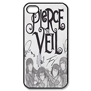 Wlicke Pierce the veil New Style Durable Iphone 4,4g,4s Case, Personalized Protective Case for Iphone 4,4g,4s with Pierce the veil