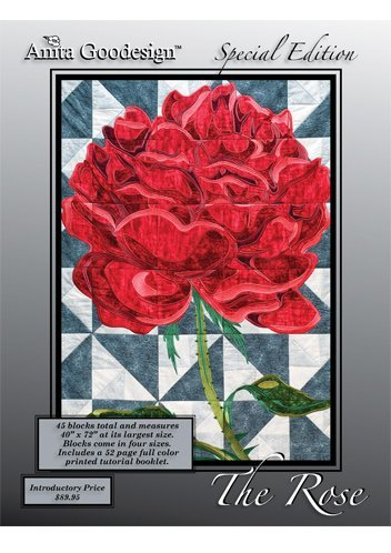 Roses Machine Embroidery Designs - Anita Goodesign Embroidery ~ The Rose ~Special Edition