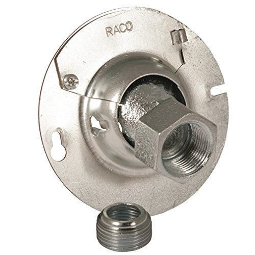 Hubbell-Raco 894KH RoundHands Free Swivel Cover 4-Inch