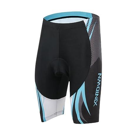 rotibox Hombre 3d acolchado bicicleta Ropa Interior De Secado Rápido pantalones cortos rotibox Hombre 3d acolchado ...