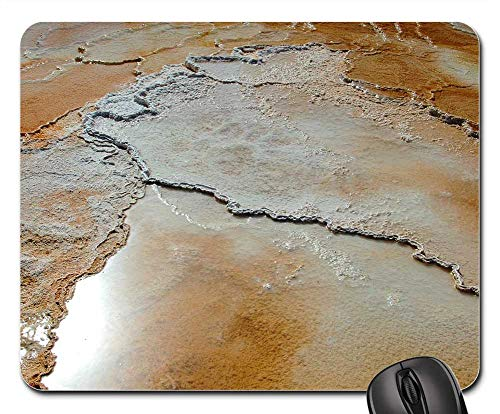 Mouse Pads - Travertine Mammoth Hot Springs