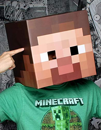 Minecraft Steve Halloween Costume (Jinx Minecraft Steve Head Costume)