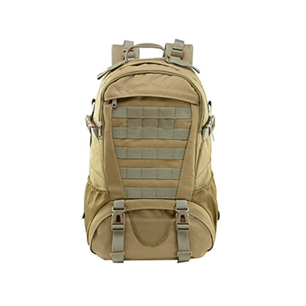 Military Tactical Backpack - 45L Outdoor Waterproof Backpack, Adjustable & Removable Chest Belt and Hip Belt Trekking Backpack, for Camping, Hiking, Trekking (♥ C)