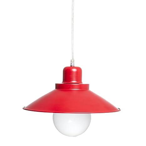 Lámpara de techo bicolor de metal - Estilo Industrial ...