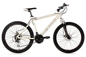 KS Cycling Fahrrad Mountainbike Hardtail Heed RH 53 cm, Weiß, 26, 254B