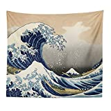 Llamazing Nordic Style Home Decor The Great Wave