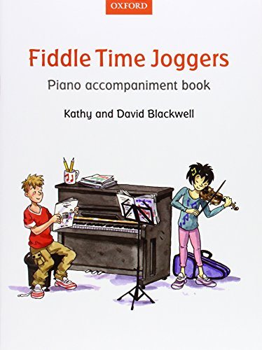 Fiddle Time Joggers Piano Accompaniment (String Time Joggers)
