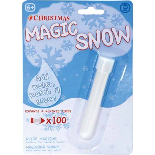 Tobar Magic Snow | Instant Snow - Just Add Water!