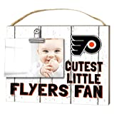 "KH Sports Fan 1001101660 10""x8"" Philadelphia Flyers Clip It Weathered Baby Logo NHL Photo Frame"