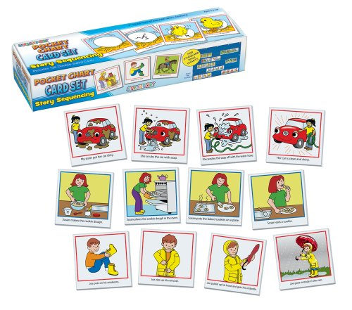 PlayMonster Lauri Pocket Chart Cards - Story Sequencing (Playing Story Cards)