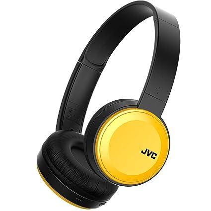 Auriculares - JVC HA-S30BT-Y-E, Bluetooth, Plegables, Amarillo