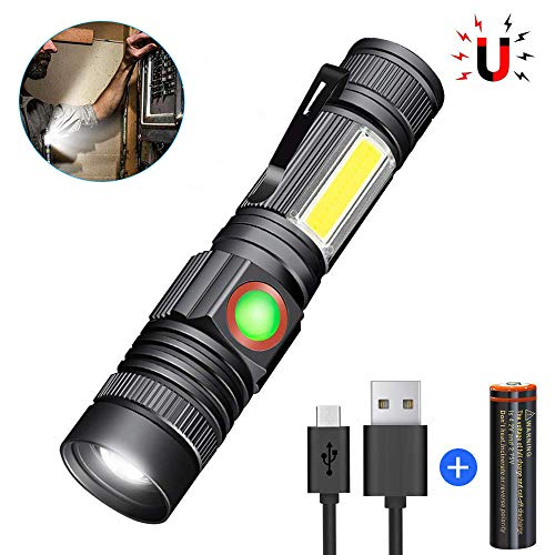 Magnetic Flashlight Rechargeable Included Waterproof product image