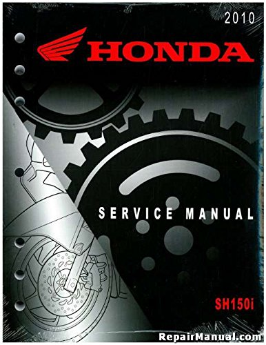 61KTG01 2010 Honda SH150i Scooter Service Manual ...