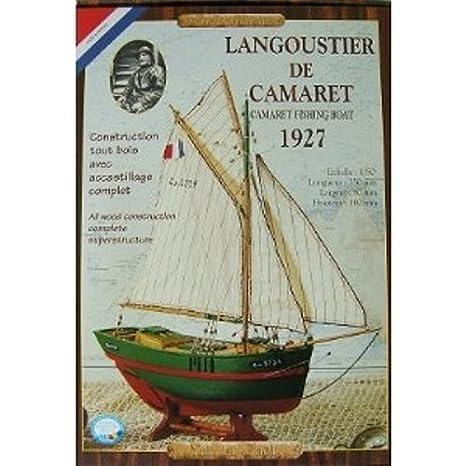 Escala 1:50 Maqueta de Barco Langoustier Yann et Ga/ël Soclaine YG1000