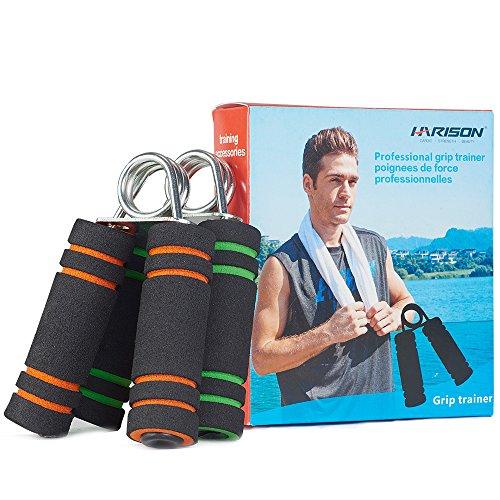 Hand-Grip-Strengthener-Soft-Foam-2-Color-Green-Orange