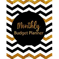 Monthly Budget Planner: Gold Style Weekly Expense Tracker Bill Organizer Notebook Business Money Personal Finance…